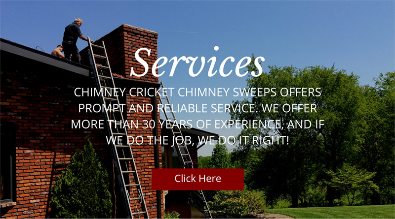 Welcome To Chimney Cricket Chimney Sweeps Service